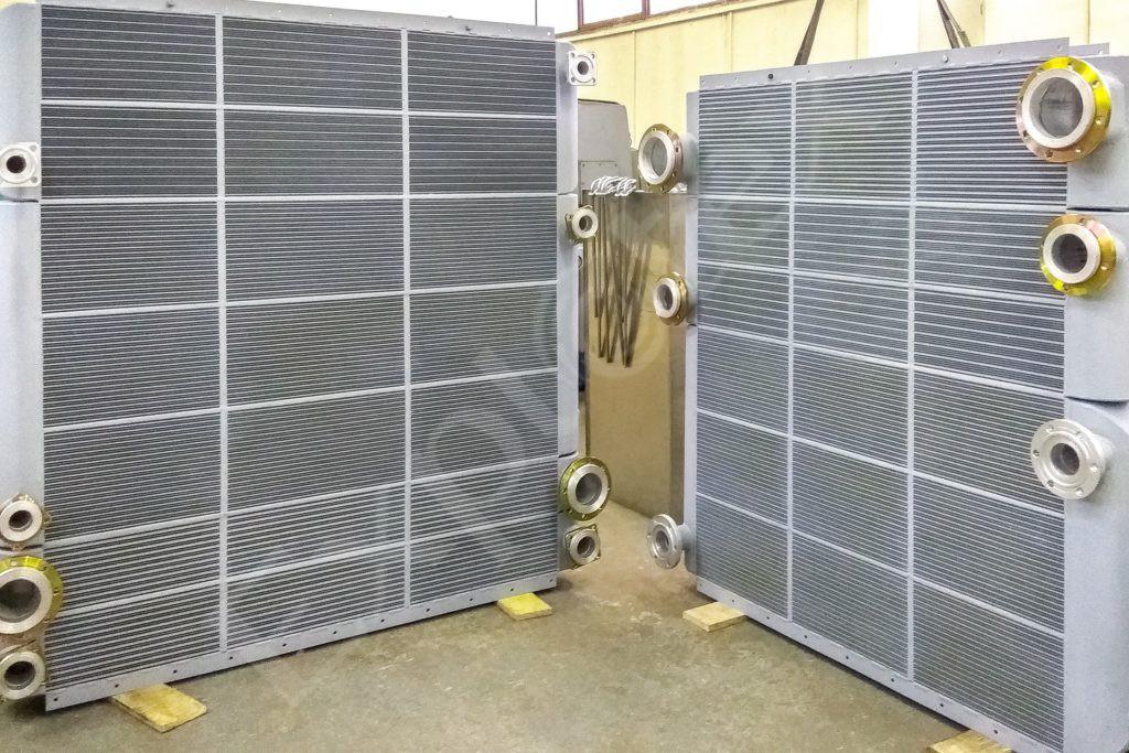 комбинированные охладители компрессорных установок