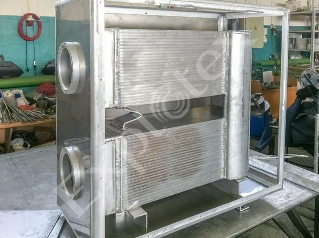 низкотемпературный рекуператор в процессе