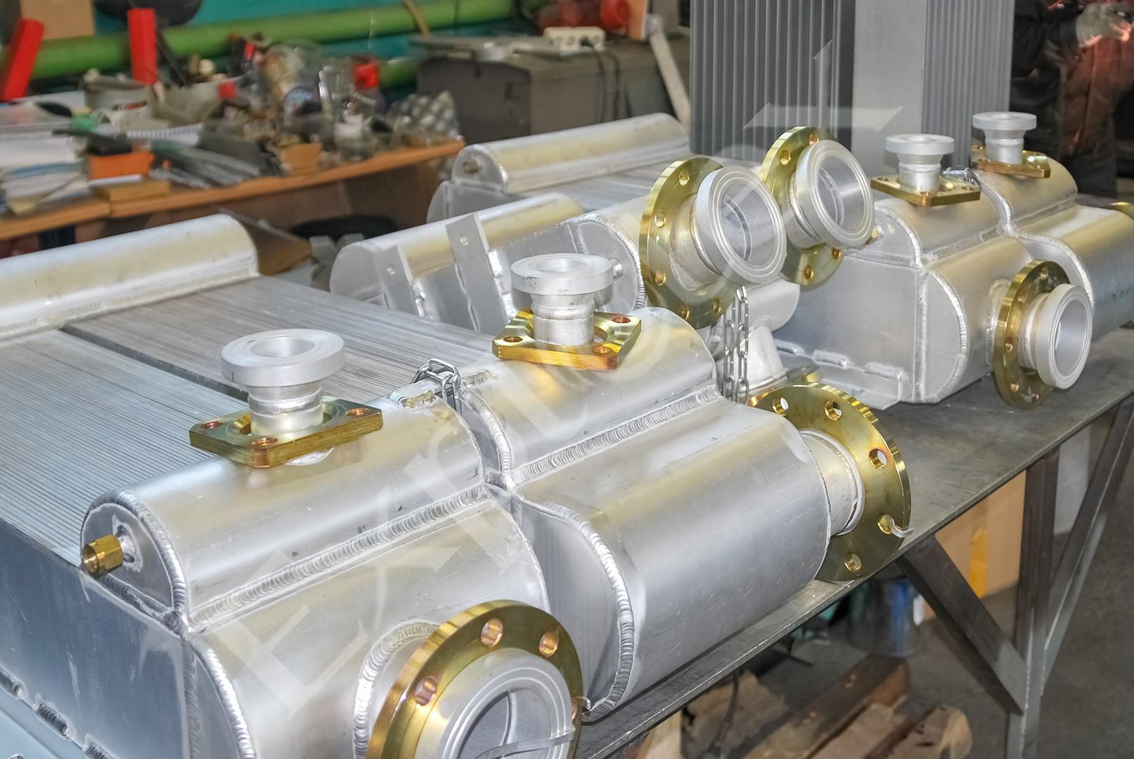 пластинчато-ребристые теплообменники для попутного нефтяного газа