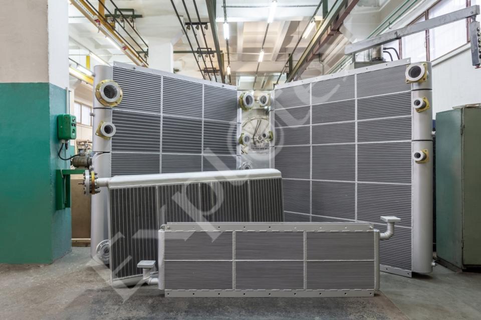 Теплообменники для компрессорной станции